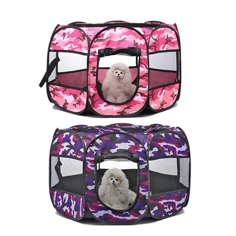 Folding Cat Dog Tent Dog House Cage Dog Cat Tent - Fluffy Palace