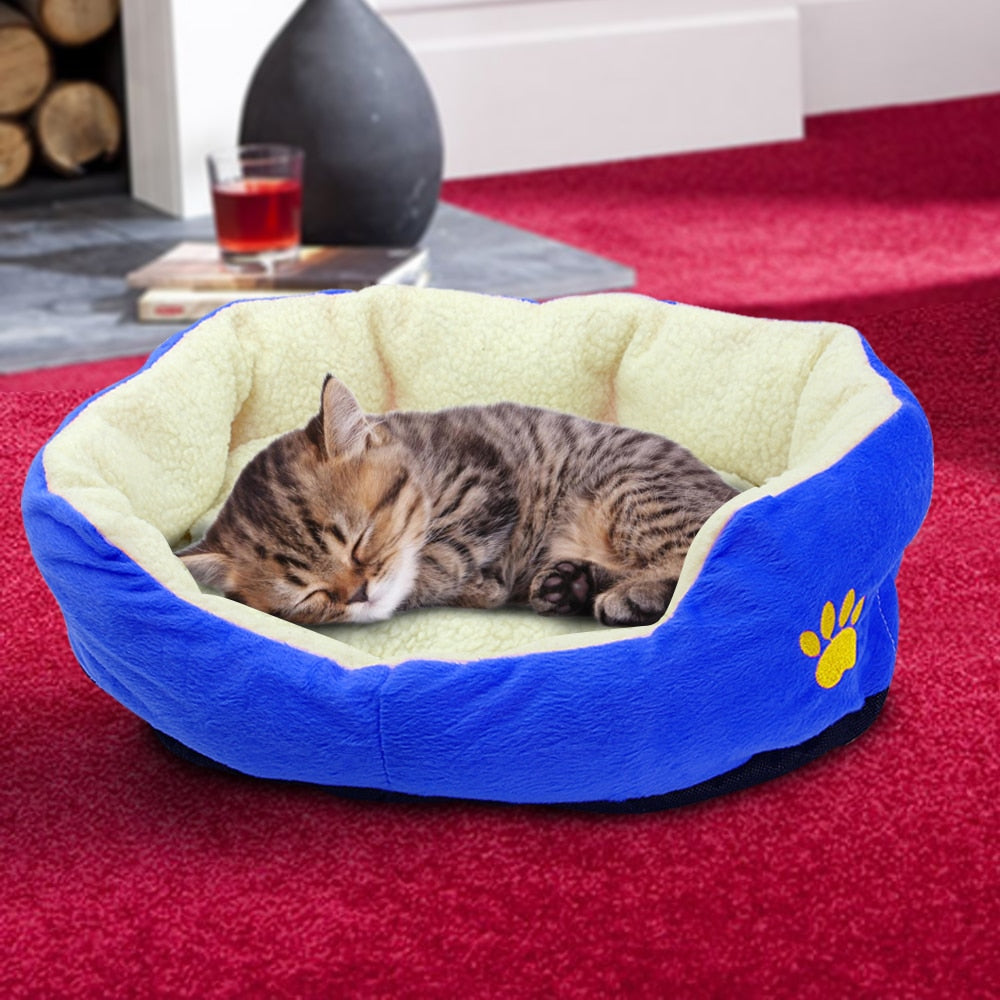 Warm Dog/Cat Bed - Fluffy Palace
