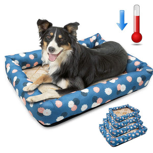 Waterproof Cosy Dog Bed - Fluffy Palace