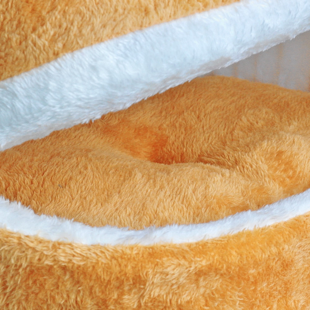 Waterproof Cosy Cave Bed - Fluffy Palace