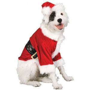Santa Pet Christmas Costume Rubie's - Fluffy Palace