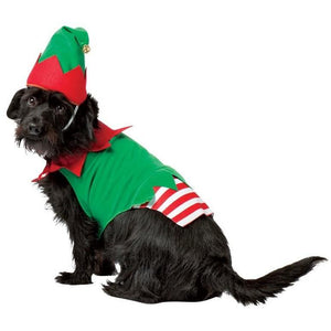Elf Pet Christmas Costume - Fluffy Palace