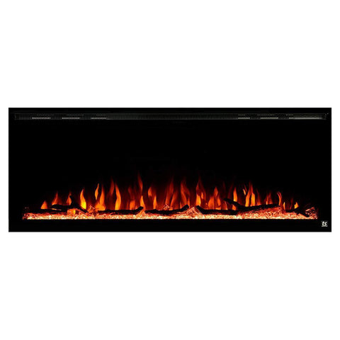 Elite Recessed Electric Fireplace