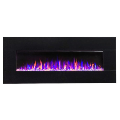 Electric Fireplace with blutooth speaker