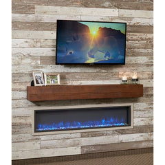 Image of Gallery Linear Wall Mounted Electric Fireplace