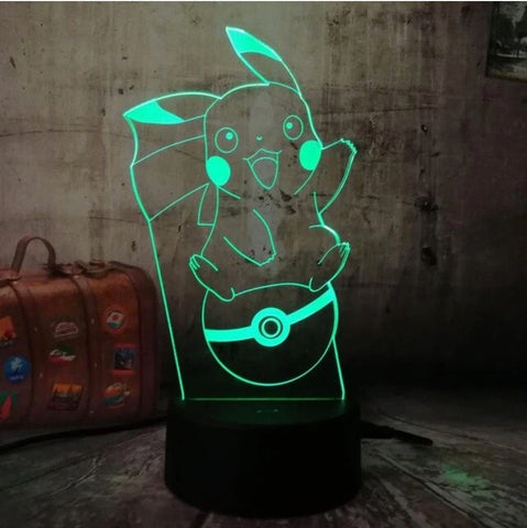 Lampe 3D Pokemon