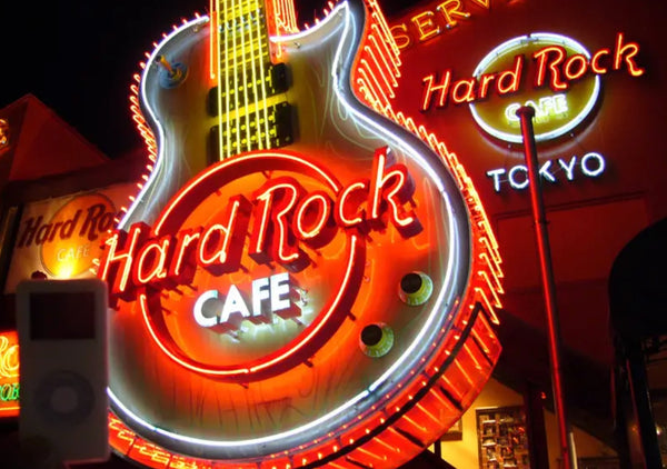 Néon Hard Rock Cafe