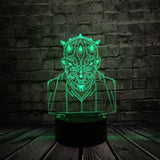 Lampe 3D Star wars Dark maul