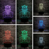 Lampe Illusion 3D Dark Maul