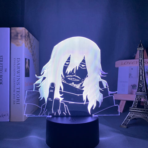 illusion lampe design 3D My Hero Academia Shota Aizawa x Reader