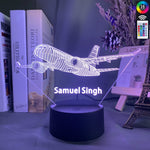 Lampe 3D Avion personnalisable