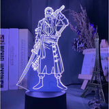 Lampe 3D One Piece Zoro