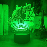 Lampe 3D One Piece Thousand Sunny
