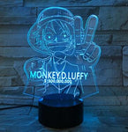 Lampe 3D One Piece Luffy Récompense