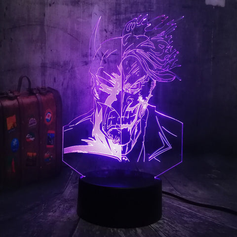 Lampe 3D DC Comics Batman vs Joker