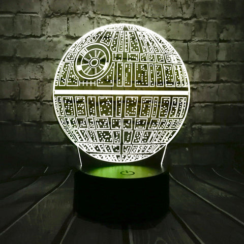 Veilleuse 3D haute definition star wars