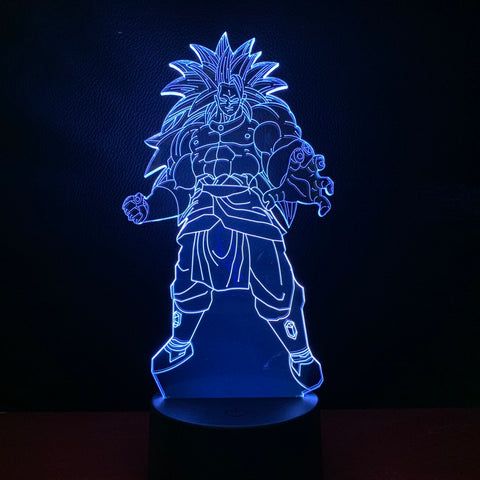 Lampe 3D Dragon Ball Z Broly