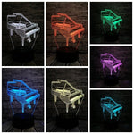 Lampe 3D collection music