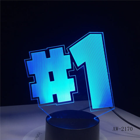Lampe 3D Fortnite TOP 1