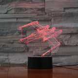 Lampe 3D Star Wars x-wing T65