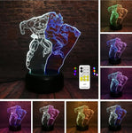 Lampe 3D Dragon Ball Z