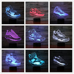 Collection lampes 3D nike