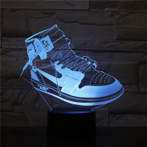 Lampe 3D Sneakers Nike Air force one