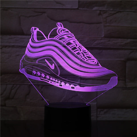 Lampe 3D chaussure nike