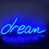 Lampe à néon dream bleu