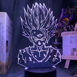 Lampe à illusion 3D Dragon Ball Z Gohan