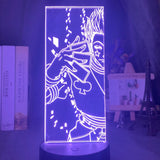 Lampe 3D Hunter x Hunter carte