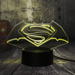 Lampe 3D DC Comics Batman vs Superman
