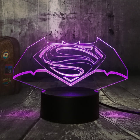 Illusion 3D DC Comics Batman vs Superman