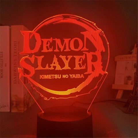 Lampe 3D Demon Slayer