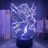 Lampe 3D Demon Slayer Tomioka