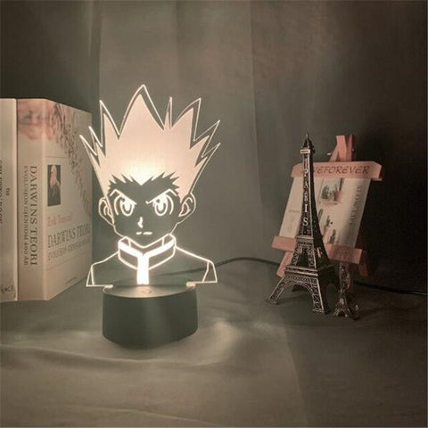 Lampe 3D Hunter x Hunter Gon méchant