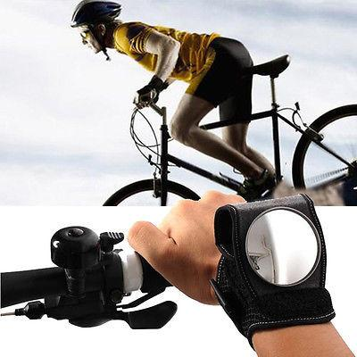 mounts on wrist