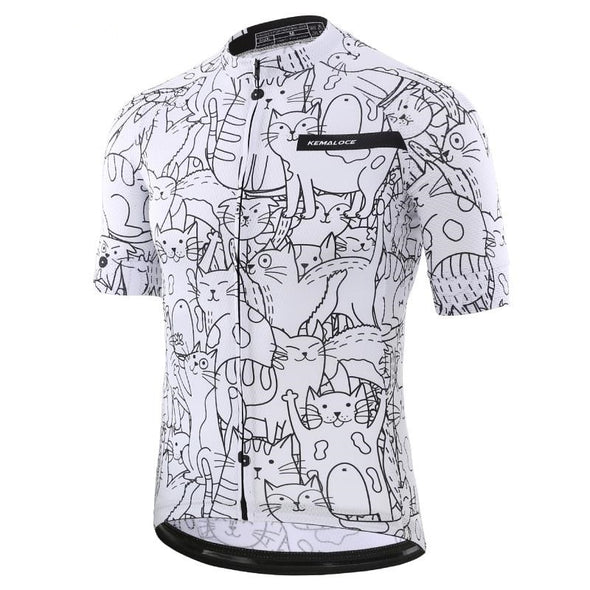 cat cycling jersey