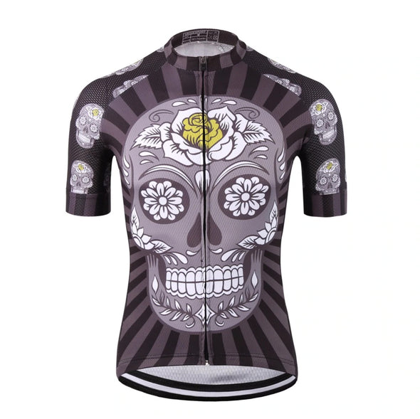 Unique Cycling Jerseys (Sugar Skull)