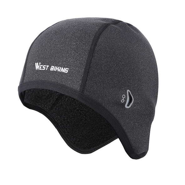 Winter Cycling Hat with Eyewear Holes