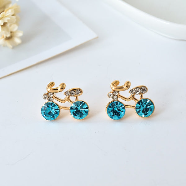 Crystal Bike Earrings [SPARKLE]
