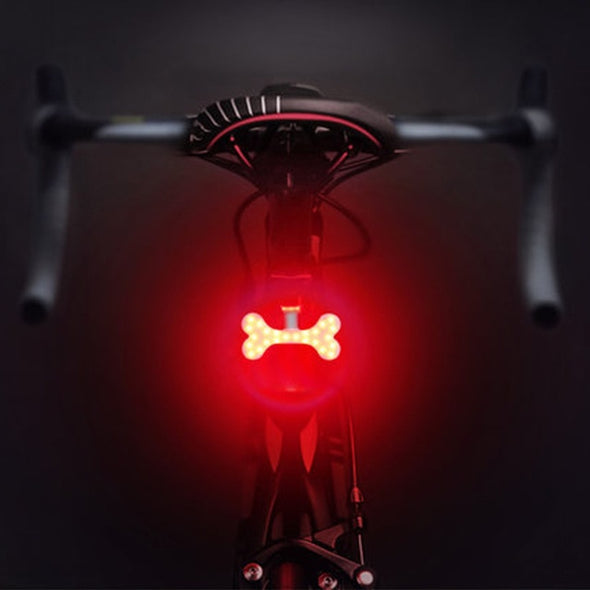 unique bike light bone