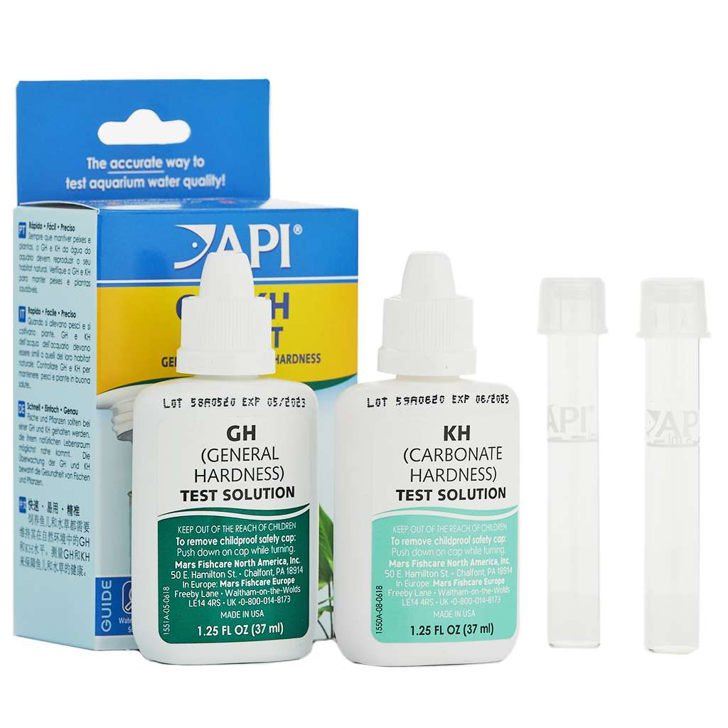 API GH & KH Test Kit Combo-Aquarium Co-Op