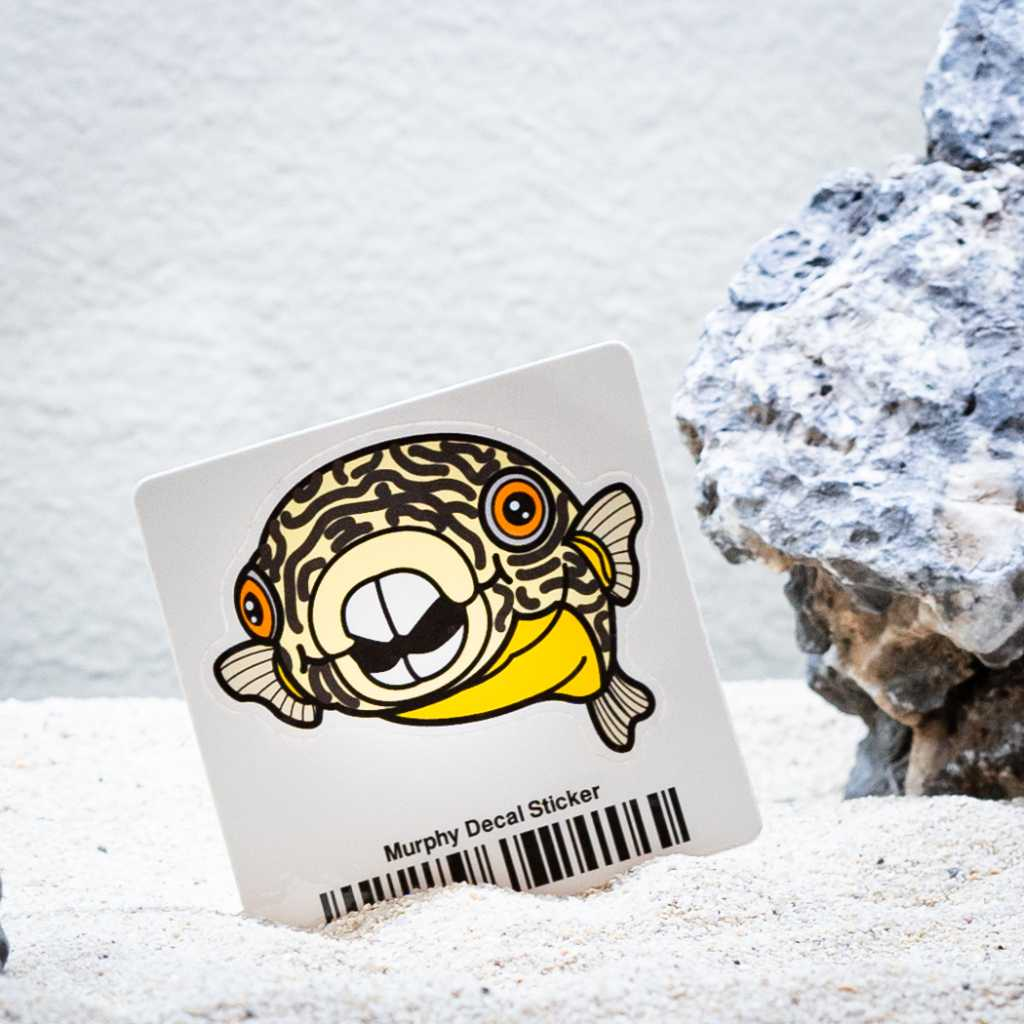 Murphy Decal Sticker-Aquarium Co-Op