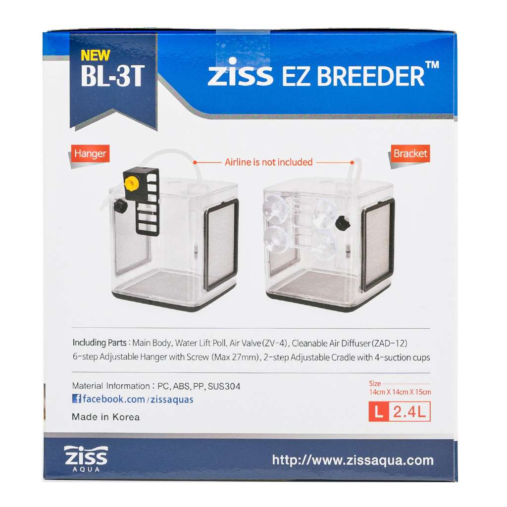 Ziss Premium Breeder Box-Aquarium Co-Op