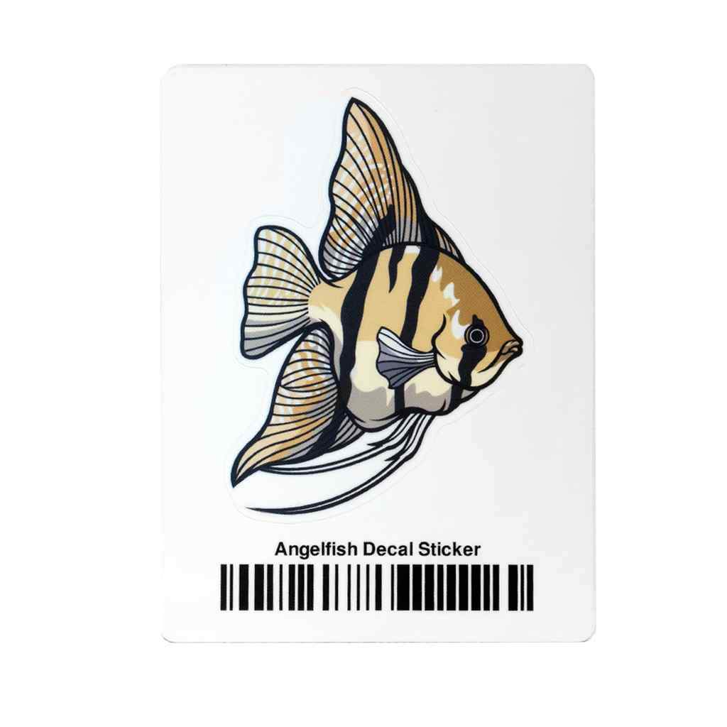 Angelfish Decal Sticker-Aquarium Co-Op