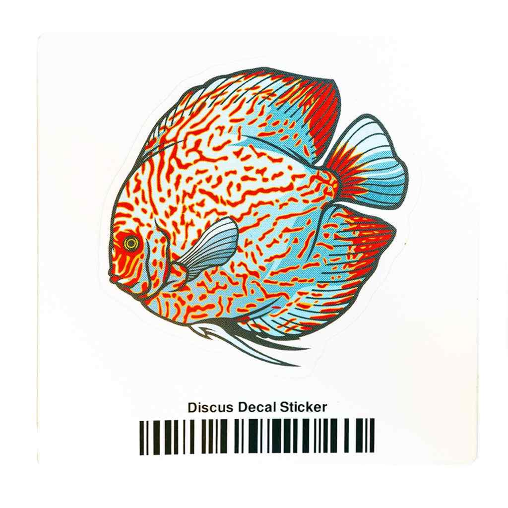 Discus Decal Sticker-Aquarium Co-Op