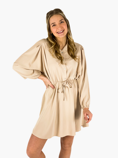 Jean and Jil Kleid Romy sand