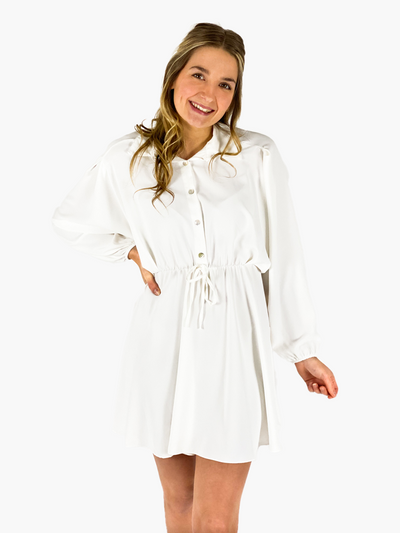 Jean and Jil Kleid Romy hellcreme