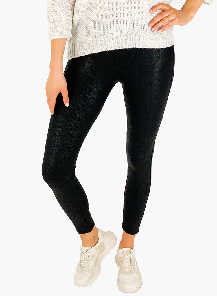 Jean and Jil Leggins Snake dark